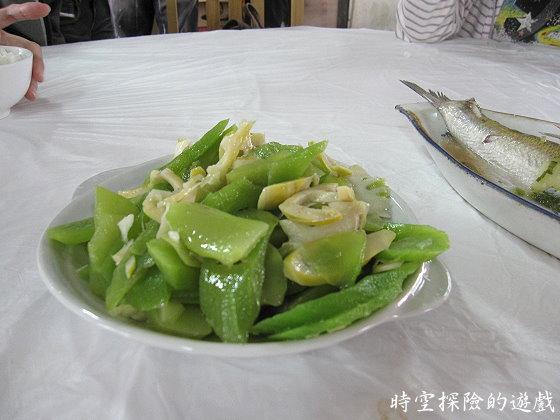 烏鎮「鴻雅酒樓」:炒雙筍(人民幣18元)