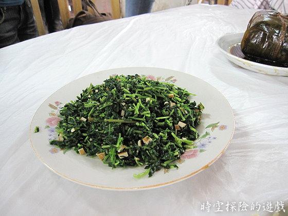 烏鎮「鴻雅酒樓」:香干馬蘭頭(人民幣18元)