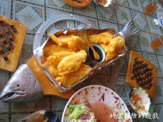 南非美食小屋:南非英式風味炸魚排
