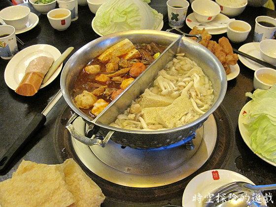 鼎王的鴛鴦鍋