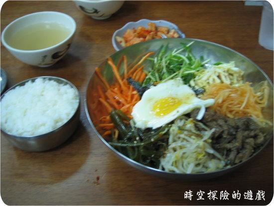 變色龍韓式料理:韓式拌飯