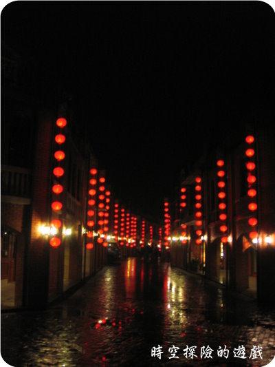 國立傳統藝術中心:夜晚的商店街