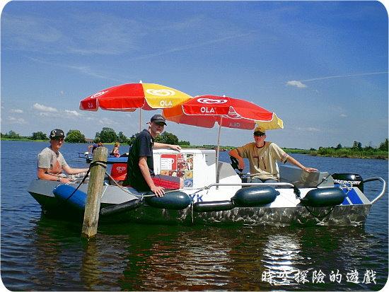 羊角村:Bovenwijde湖水上冰店
