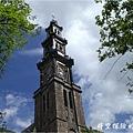 西教堂鐘塔(攝於2008/6/22)