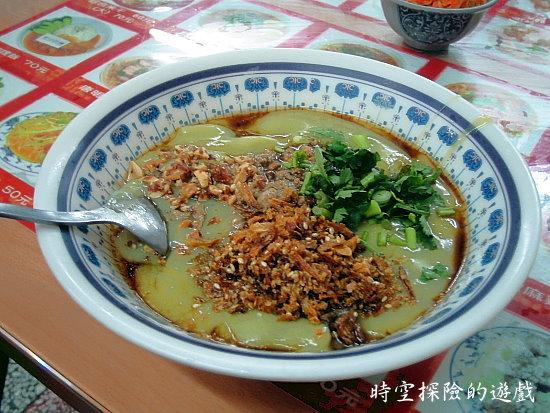 不一樣小吃:稀豆粉粑粑絲(小碗50元)