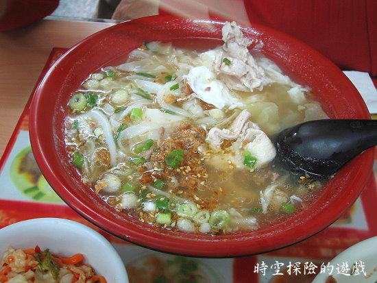 不一樣小吃:綜合米干(小碗60元)