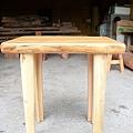 松木桌(適合當電腦桌、玄關桌)