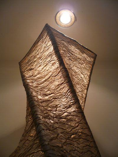 樹皮燈(扭曲)
