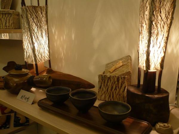 桌上型─造型樹皮燈