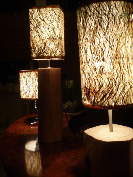 桌上型─樹皮燈(深)