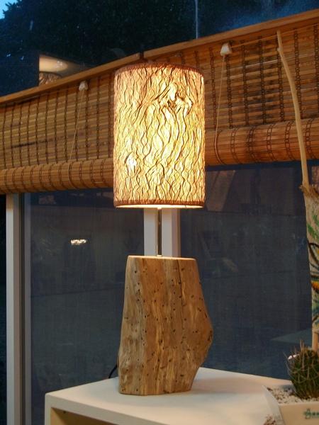 桌上型─造型樹皮登<原色>(新作品)