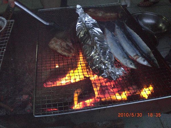 晚上烤肉風味餐