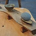 創意原木裝飾