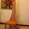 單人椅(檜木)