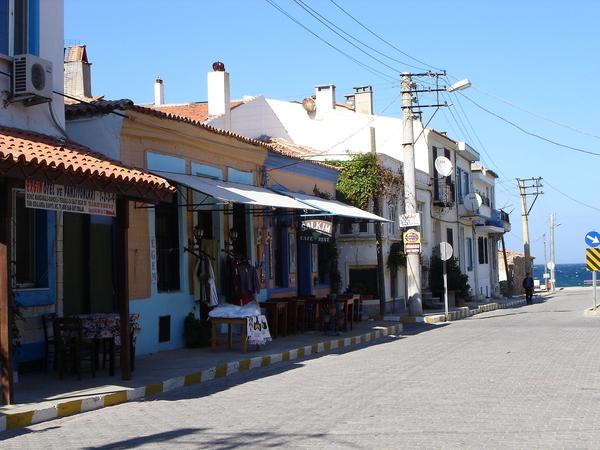A Street in Bozcaada