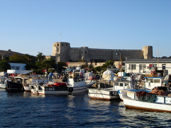 Bozcaada Castle and Harbour