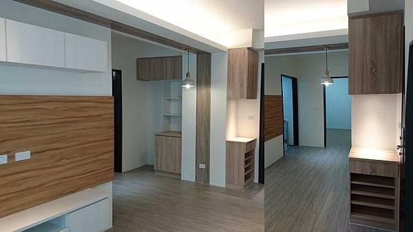09系統櫃_超耐磨木地板_溫馨室內設計.jpg