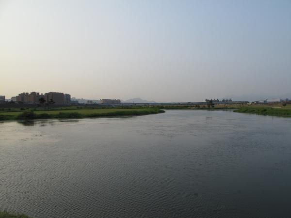 環河道路之大漢溪