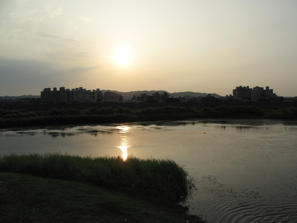 大漢溪的落日