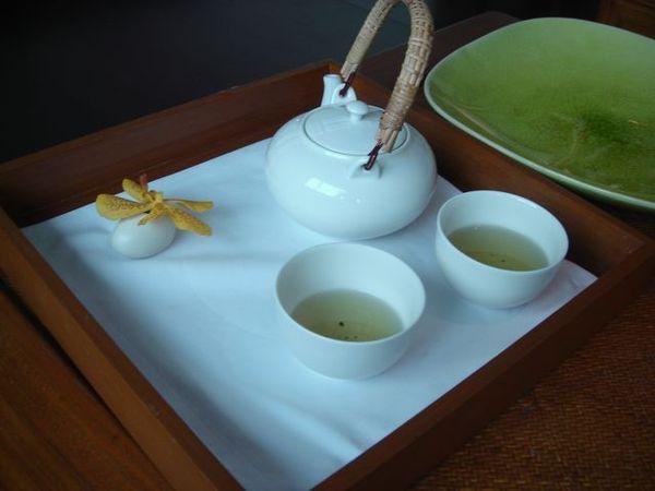 飯店準備的迎賓茶