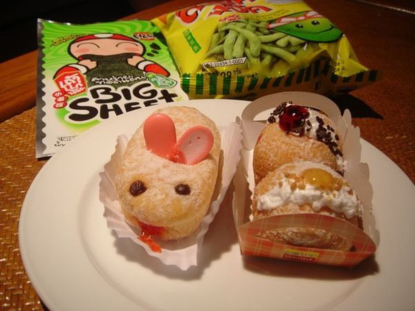 造型可愛的甜甜圈,總共只要44泰銖