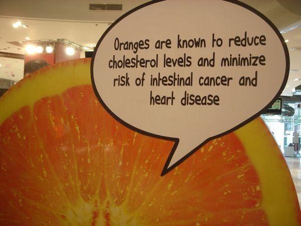 Orange說:多吃我有益健康