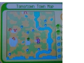 村莊地形圖