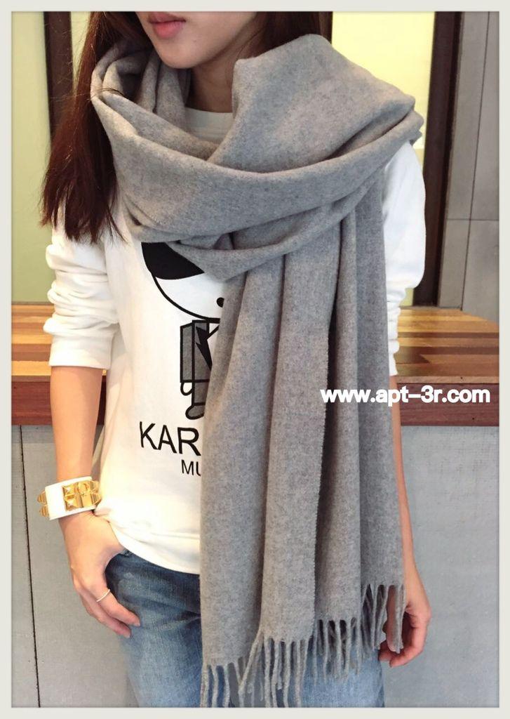 圍巾穿搭 (5)