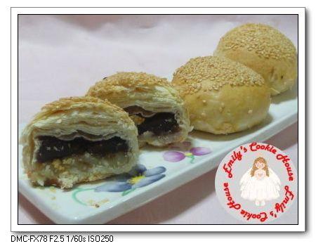 豆沙麻糬酥餅