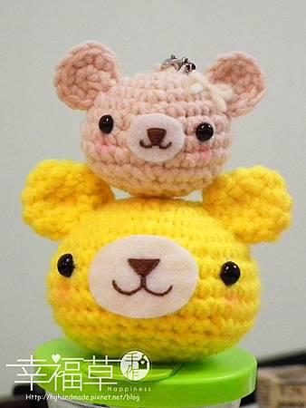 基礎-小熊頭吊飾
