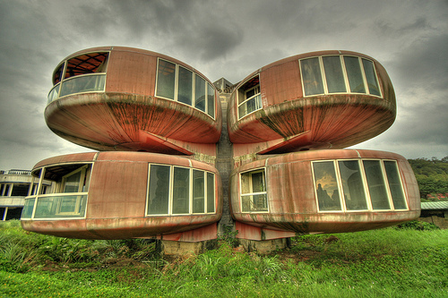 21. The Ufo House (Sanjhih, Taiwan)