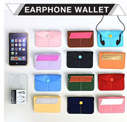 EARPHONE WALLET