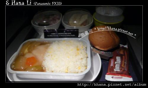 20100411 飛機晚餐