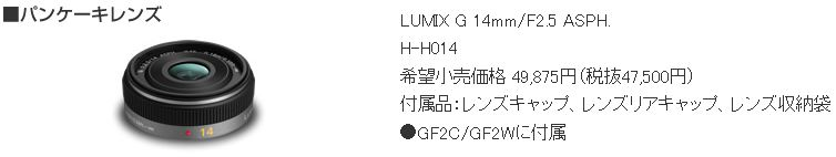 GF2 Lens