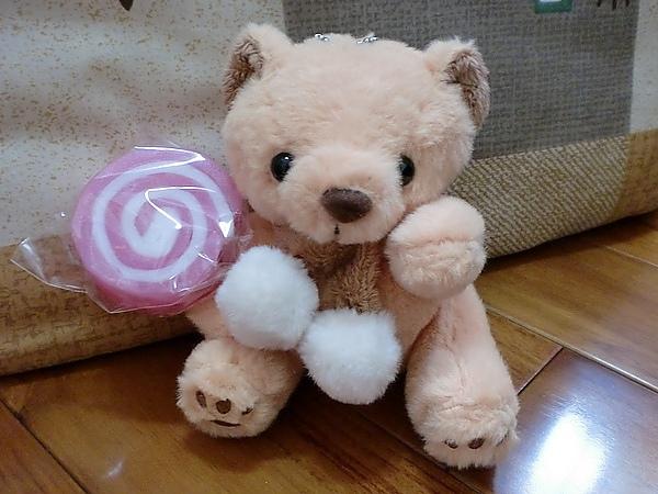 熊熊和棒棒糖皂
