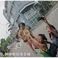 0906-10-竹田站附近的路邊轉彎放大鏡.jpg