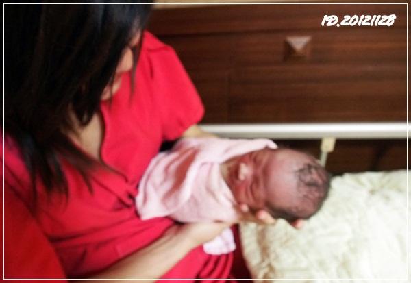 20121128-0-都忘了初生寶寶的尺寸