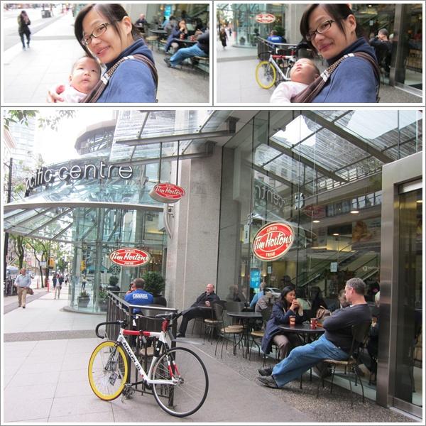 這是在溫哥華,我幾乎每天一杯咖啡的店家!