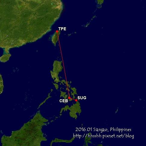 地理位置&飛行路線-2