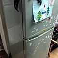 6.買洗衣機送的232L老冰箱