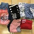 女童7-13號衣物