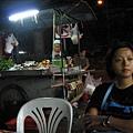 nana當天的晚餐,路邊攤實景
