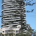 水波紋的建築物