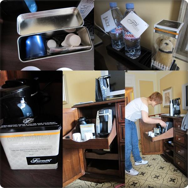 房內的咖啡機