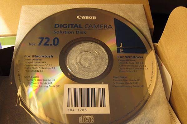 原廠軟體光碟