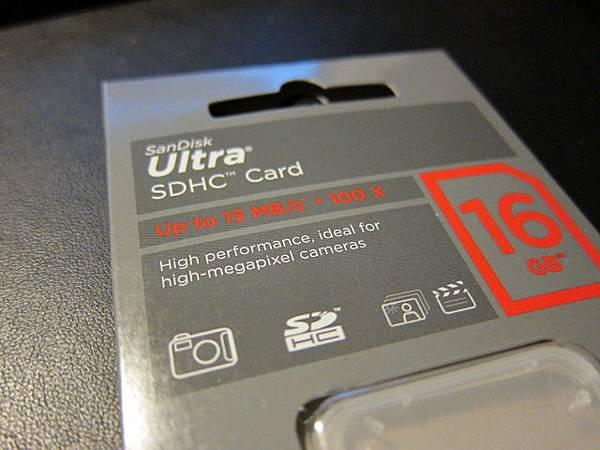 Sandisk Ultra 16G SDHC