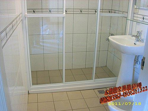 房屋修繕---浴室乾溼分離新竹李先生