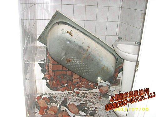 浴室乾溼分離新竹李先生15