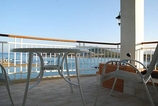 面海房間陽台