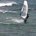 後灣玩風浪板